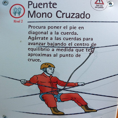 Puente mono cruzado